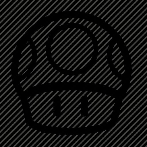 game, mario, mushroom, play, video games icon