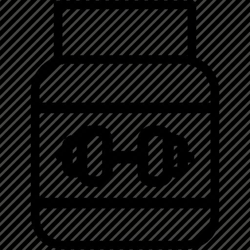 bodybuilding, dietary, gym, medicine, supplements icon