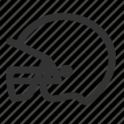american football, football, game, games, helmet, play, sports icon