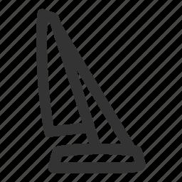 boat, sail, sailing, sports, water, yacht, yachting icon