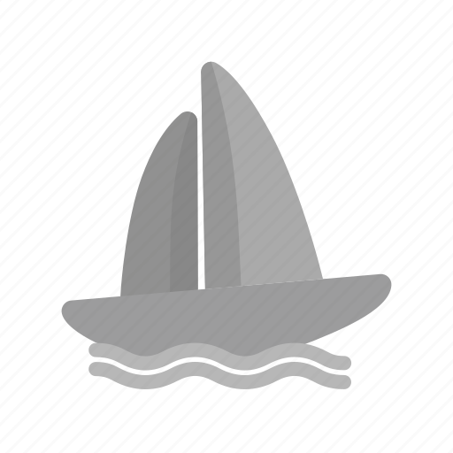 boat, boating, race, sail, sports, water, yacht icon