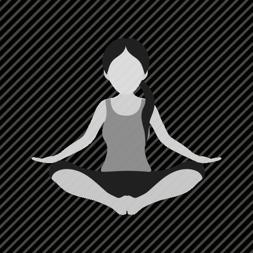aerobics, exercise, fitness, gym, healthy, sports, yoga icon