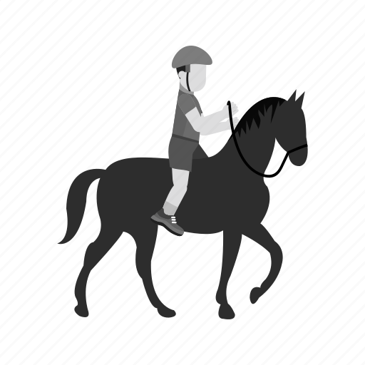 activities, horse rider, jockey, pony, race, riding, sports icon