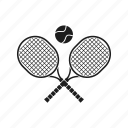 badminton, ball, emblem, racquetball, sport, tennis icon