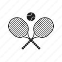 ball, emblem, racquetball, tennis, badminton, sport