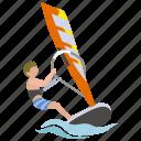 sailing, surf, surfer, watersport, wind, windsurfer, windsurfing