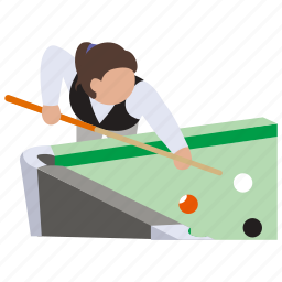 billiards, pocketball, pool, snooker icon