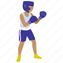 arts, boxer, boxing, kickboxing, martial, punching, speed icon