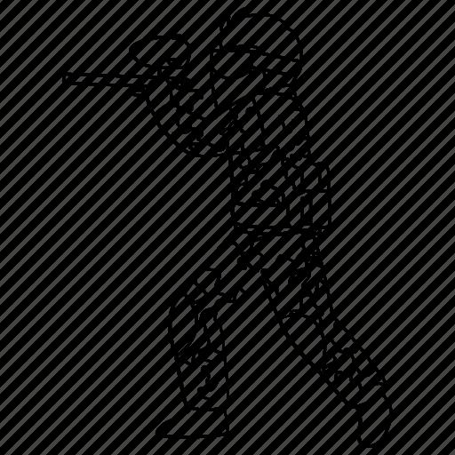 gun, marker, paint, paintball, professional, rifle, speedball icon