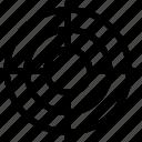 aim, goal, see, target icon icon