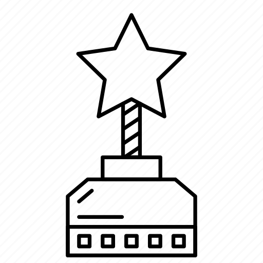 achievement, award, badge, medal, prize icon