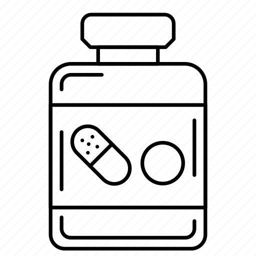 drugs, jar, medicine, pharmacy, pills icon
