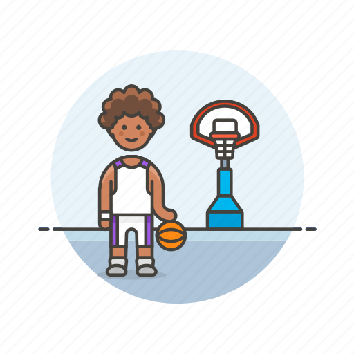 ball, basketball, game, outdoor, play, sports, street icon