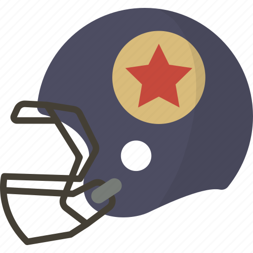 football, helmet, protection icon