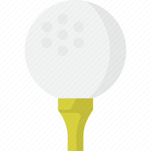 Ball, golf, tee, golf ball icon - Download on Iconfinder