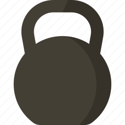 fitness, kettlebell, strong, training, weights icon