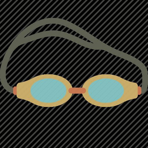 goggles, pool, swim, swimming icon