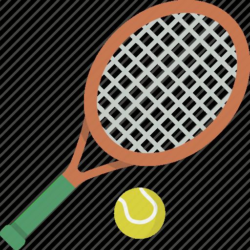ball, equipment, racket, tennis icon