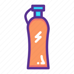 bottle, drink, energy, fitness, sports, water, workout icon