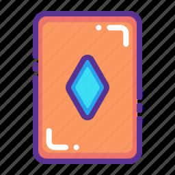card, casino, diamond, gambling, luck, playing, poker icon