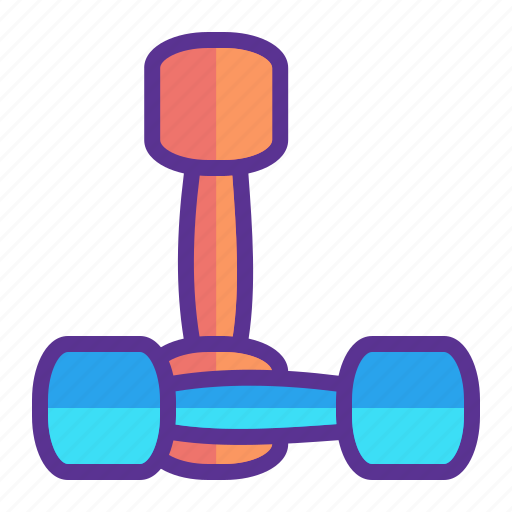 dumbbell, dumbbells, exercise, fitness, gym, weight, workout icon