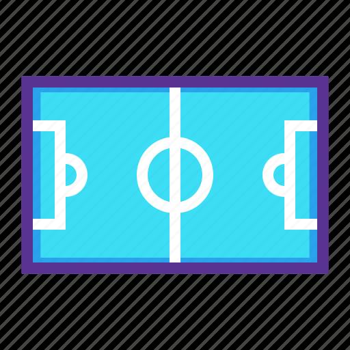 field, football, game, ground, soccer, sports, stadium icon