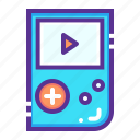 console, game, gameboy, gamepad, gaming, handheld, nintendo icon