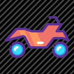 adventure, bike, mountain, quad bike, ride, sports icon