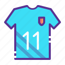 football, game, jersey, sports, team, tee, wear icon