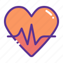 activity, fitness, health, heart, love, medical, passion icon