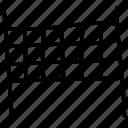aim, goal, soccer, target icon