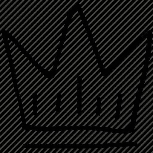 crown, king, royal, winner icon