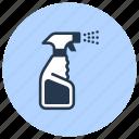 aerosol, can, cleaning, spray
