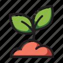bud, flower icon