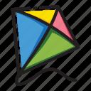 kite, spring icon