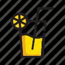 drink, lemonade icon