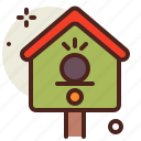 birds, gardening, nest, seasonal, spring icon