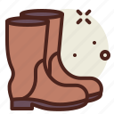 boots, gardening, seasonal, spring icon