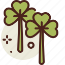 clover, gardening, seasonal, spring icon