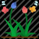 flower, flowers, garden, leaf, plant icon