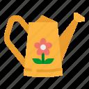 can, garden, gardening, sprinkle, watering icon