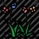 flower, flowers, garden, leaf, plant