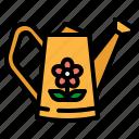 can, garden, gardening, sprinkle, watering