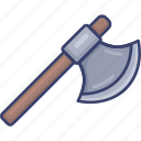 axe, blade, chop, cut, tool, tools, weapon icon