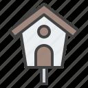 bird, house, decoration, garden, nest