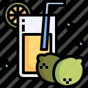 lemonade, juice, beverage, refresh, lemon, drink