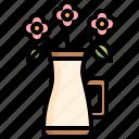vase, flower, decoration, garden, bouquet