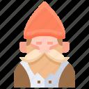 gnome, adornment, decoration, farming, gardening