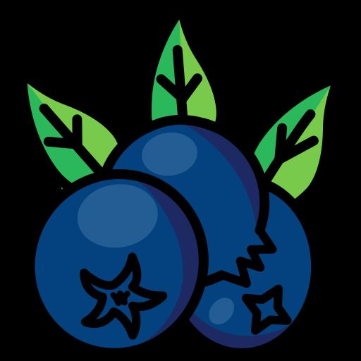berries, berry, blue berries, cranberries, food, fruit icon