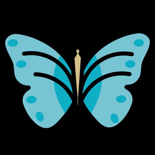 butterfly, insect, papillon, staroffice, summerbird icon